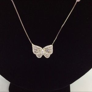 14k GP Butterfly Necklace